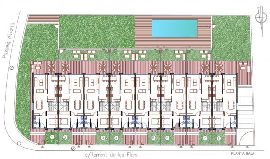 planos de casas adosadas